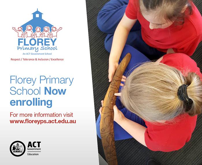 Enrolment Florey Primary